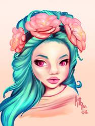Flowers by KittRen