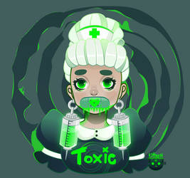 Toxic Nurse by KittRen