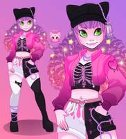 Pink Girl by KittRen