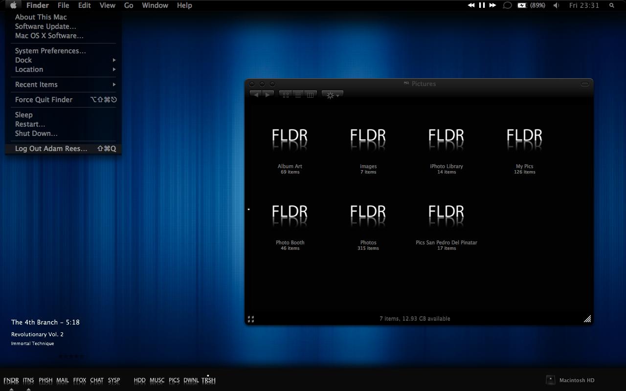 SonyVegasPro97: Cold MAC Theme *Updated*