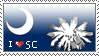 I Love South Carolina -stamp- by deutschschaferhund