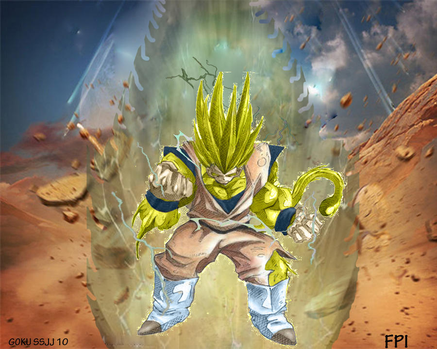 Goku super saiyan 10 by franciscossjj on deviantart - Super sayen 10 ...