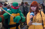 Leonardo and April O'Neil @ FACTS 2012