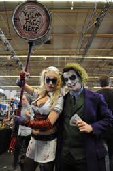Joker and Harley Quinn at FACTS 2015