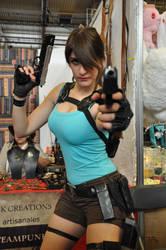 Lara Croft at FACTS 2015