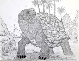 Magma turtle-Kong Skull Island by LADAlbarran2000