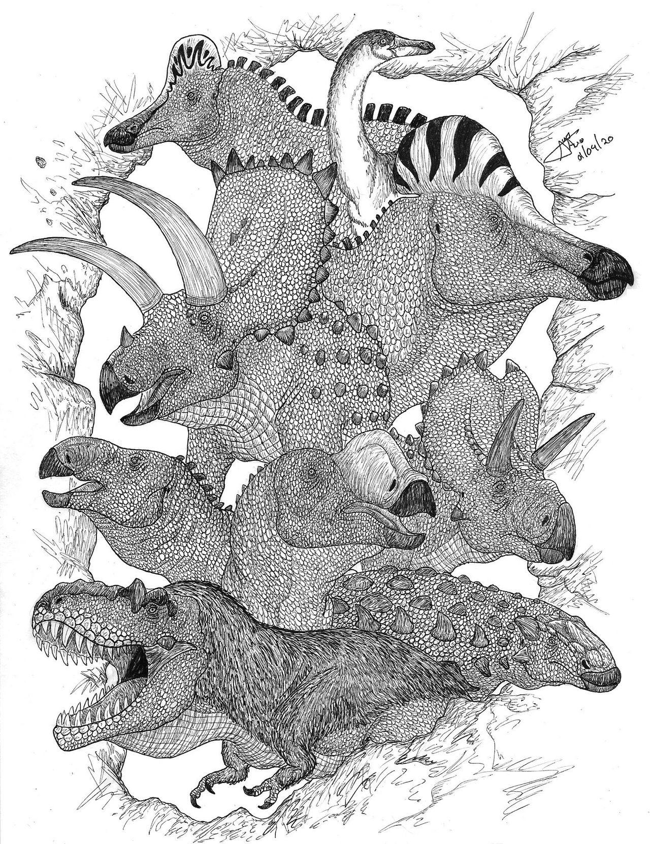 Dinosaurios Mexicanos By Ladalbarran2000 On Deviantart La serie se desarrolla en la prehistoria, donde los dinosaurios viven en sociedad algo parecida a la humana, tienen familias y tecnología. dinosaurios mexicanos by
