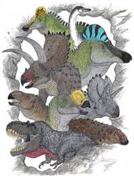 Dinosaurios mexicanos