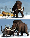 Angry mammoth