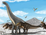 Hunting Alamosaurus