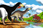 Paraxenisaurus normalensis landscape