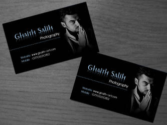 Ghaith Salih card 02 by ameen80