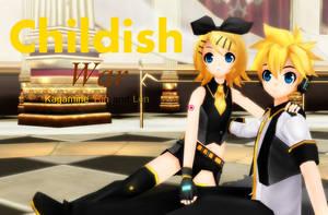 Kagamine Rin and Len::Childish War [MD DL LINK] by algebraicPacificer