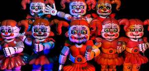 My Useful Circus Baby Models Evolution