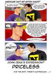 American Hero vs British Humor