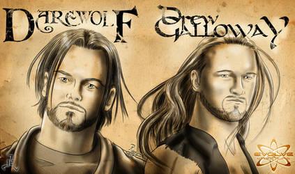 EVOLVE - Darewolf vs Galloway by Roselyne777