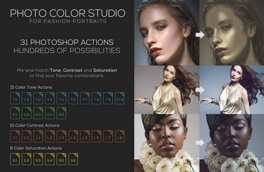 Photo Color Studio - Photoshop Actions