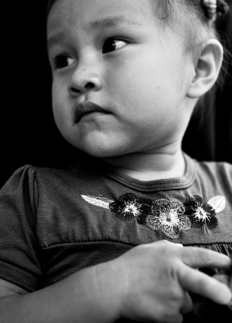 Indigenous Girl Portrait by JoseAvilaPhotography