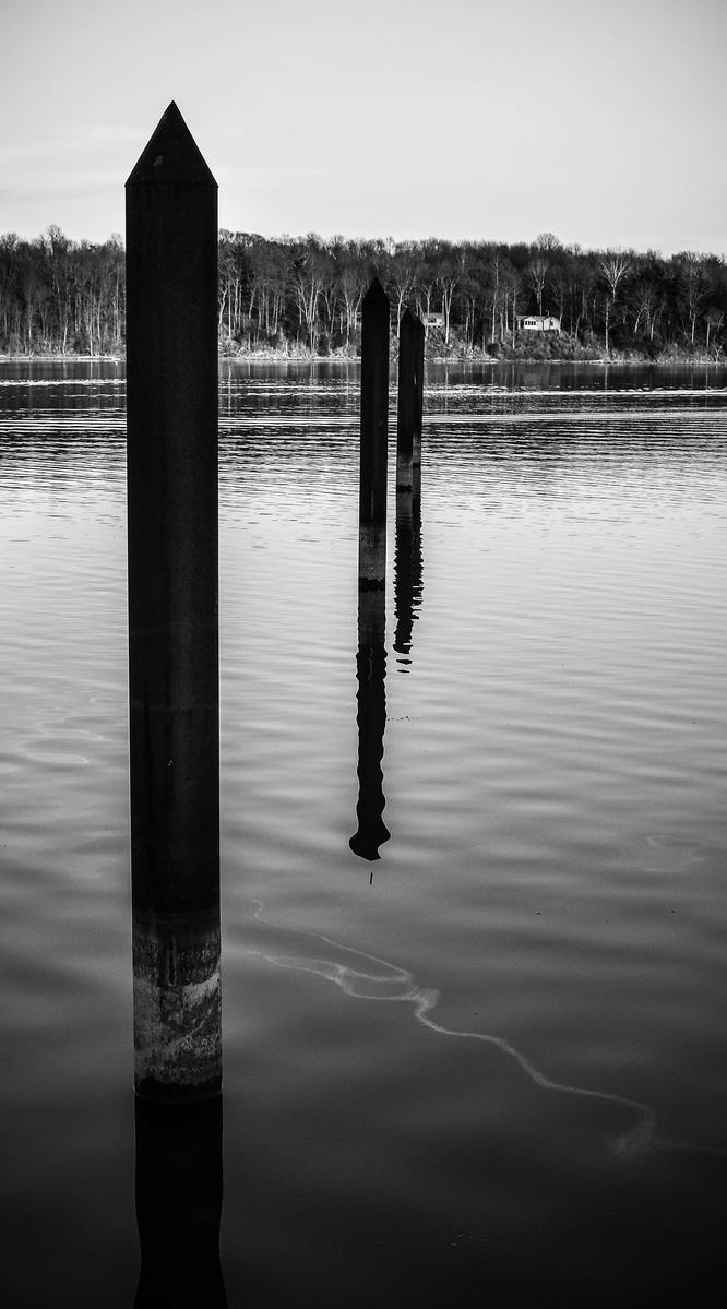 Lake Spikes by JoseAvilaPhotography