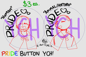 Pride Button YCH -=OPEN=-