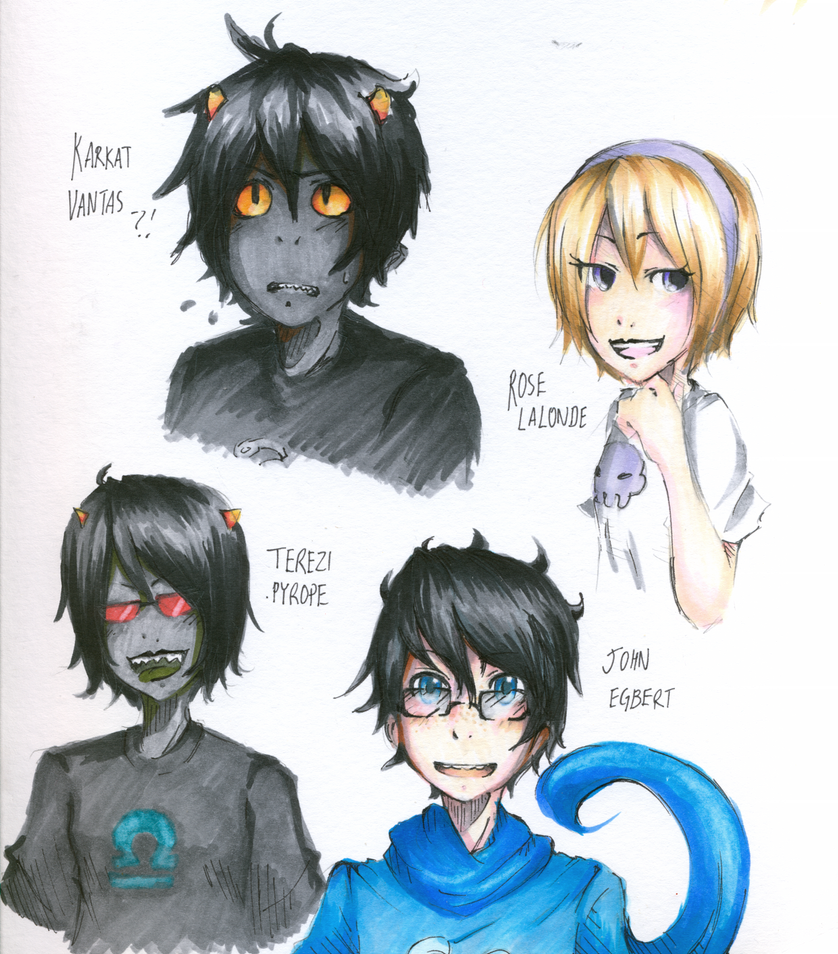 HOMESTUCK by R-25