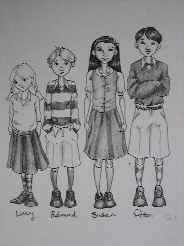 The Pevensie's by jenimal