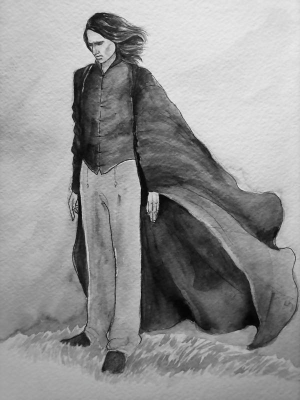 Snape's Misery by jenimal