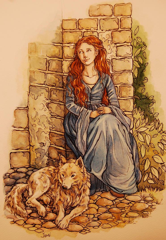 Lady Sansa by jenimal
