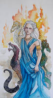 Mother of Dragons by jenimal
