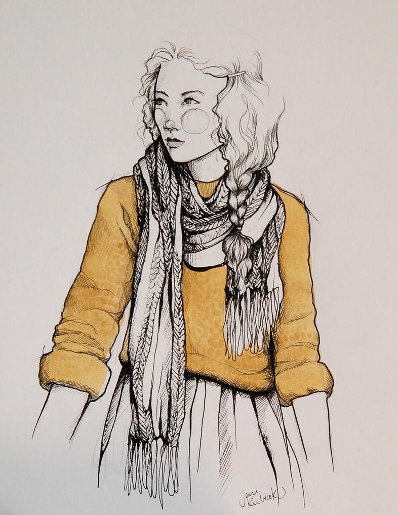 fashion illustration #5 by jenimal