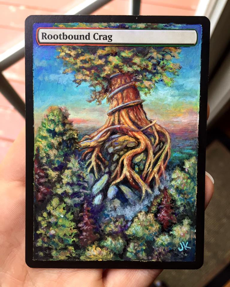Rootbound Crag Alter by jenimal