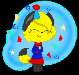 Happy Birthday Flapsy! (Gift) by StarlightArcticPaws