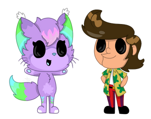 Chibi Null and Ace (COM)