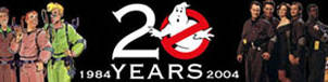 GHOSTBUSTERS 20TH ANNIVERSARY by WOLVERINE25TH