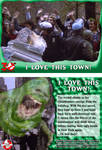 GHOSTBUSTERS 30TH ANNIVERSARY TRADING CARD 90