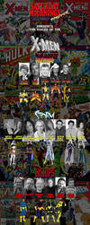 SATURDAY MORNINGS FOREVER: VOICES OF THE X-MEN by WOLVERINE25TH