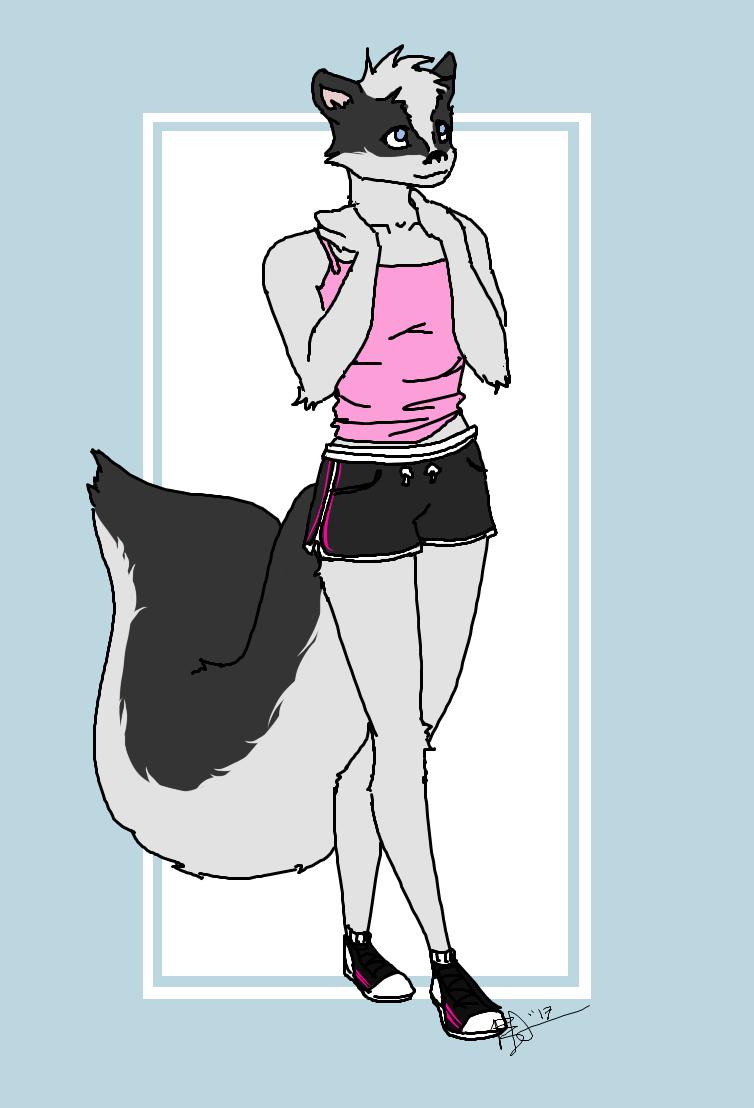 Zoe the skunk
