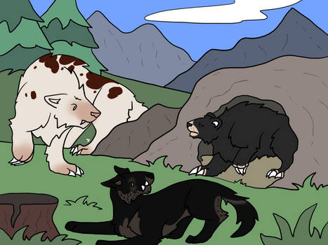 May 2021 - Hunting - Greyback and Omen