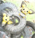 The pichu brothers + their DS by pokemonorigin