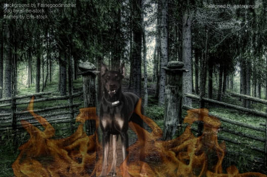 Warned off by the Hellhound
