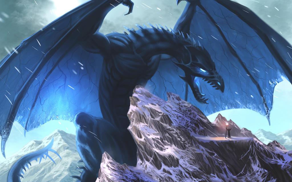 Frost Dragon: Frost Dragon By Stylus75 On DeviantArt