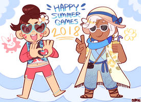 Overwatch Summer Games 2018 by Beartie