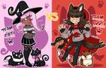 [MAHOU WANDO] DTE - CAT VS DOG! (WINNER ANNOUCED!) by Beartie