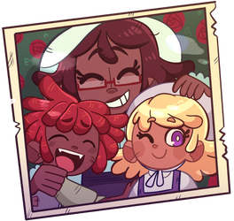 [FLASH PROMPT] MAHOU MEMORY WALK by Beartie