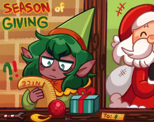 [FLASH PROMPT] SEASON OF GIVING 2020!! by Beartie