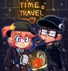 [MAHOU WANDO] PROMPT - TIME TRAVEL by Beartie