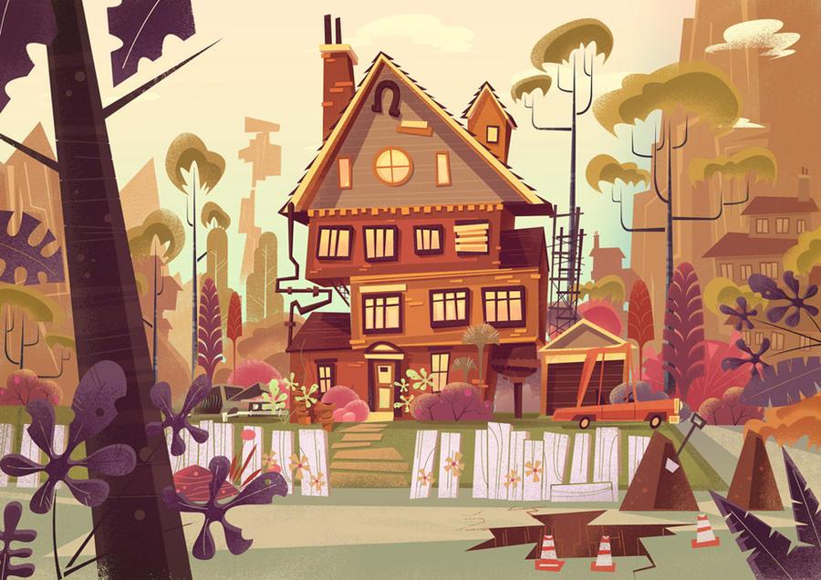 Disney Concept Art by jamesgilleard