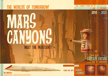 Mars Canyons by jamesgilleard