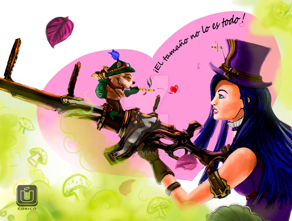 Cait vs Teemo by Cubico