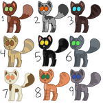 Cat Adoptables (5 points) (OPEN, 5/9)